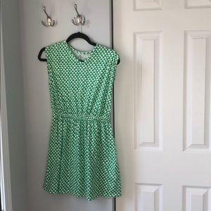 Lands End Dress 10-12 Y